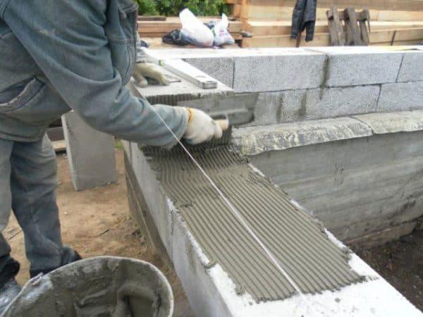 Раствор для заливки опалубки цементный пропорции пропорции керамзитобетона для пола на 1 м3